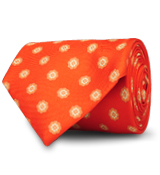 The Orange Dunlap Tie