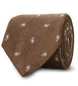 The Brown Hensley Paisley Tie