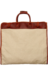 The Beige Dwyer Garment Bag