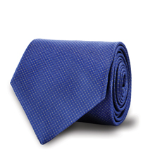 The Blue Fuller Pindot Tie