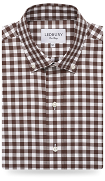 The Brown Carpenter Gingham