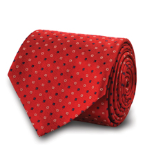 The Red Tyndall Tie