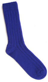 The Royal Purple Alastair Cashmere Sock