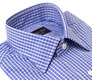 The Stanton Gingham Slim Fit collar