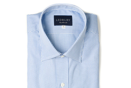 The Light Blue Bengal Slim Fit shirt