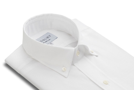The White Oxford Slim Fit collar