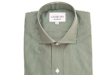 The Green Cross Cutaway Slim Fit shirt