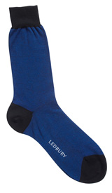 The Navy and Blue Darden Sock