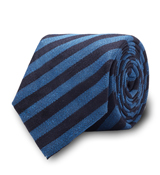 The Navy and Blue Becker Tie