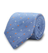 The Blue Cartwright Dot Tie
