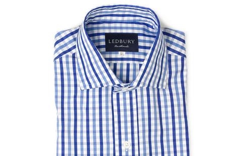 The Blue Starks Gingham shirt