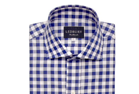 Blue McGuire Gingham shirt