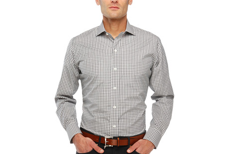 The Black and Grey Townsend Tattersall modelcrop