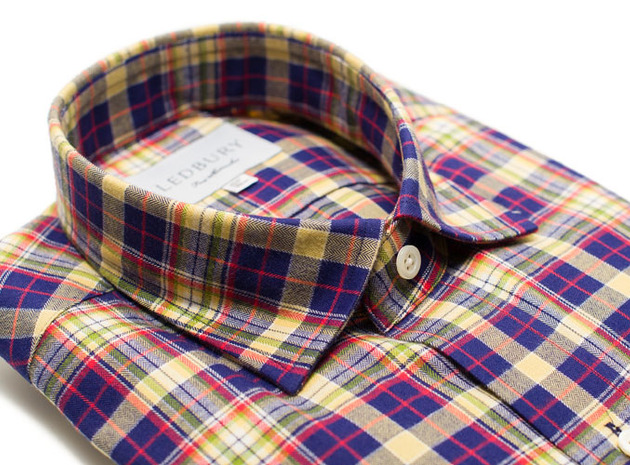 The Griffin Flannel collar