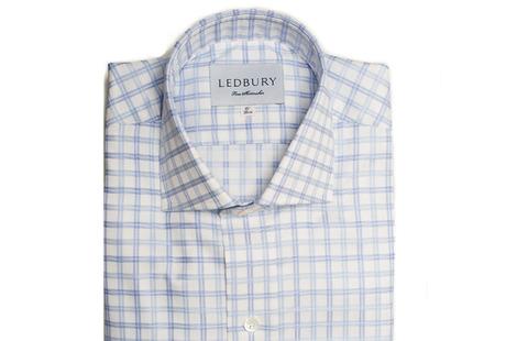 The Adams Box Check shirt