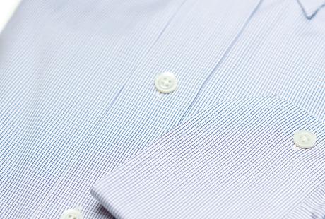 The Blue Micro-Check singlecuff