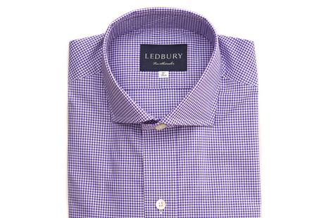The Purple Cross Cutaway shirt