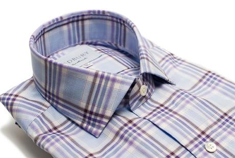 The Warsaw Plaid collar
