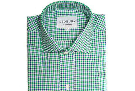 The Blue and Green Thompson Tattersall shirt
