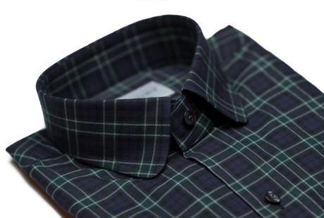 The Black Watch Roosevelt Slim Fit collar