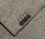 The Grey Herringbone Sport Coat Slim Fit singlecuff