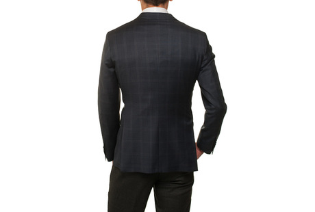 The Blue and Brown Hanover Check Sport Coat shirt