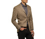 The Brown Huxley Sport Coat modelcrop