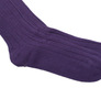 The Purple Alastair Sock singlecuff