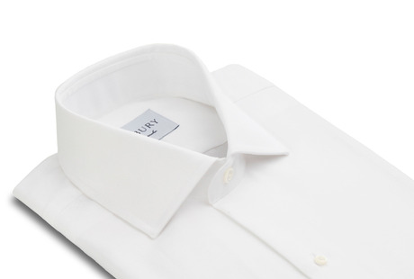The Tuxedo Shirt collar