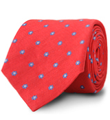 The Red Maher Floral Tie