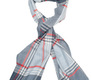 The Braden Block Check Merino Scarf