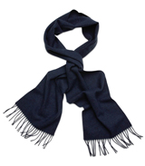 The Blue Camden Lambswool Scarf