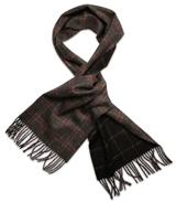 The Grey Roane Cashmere Tweed Scarf