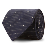 The White Turner Pindot Tie