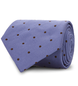 The Blue Dobson Dot Tie